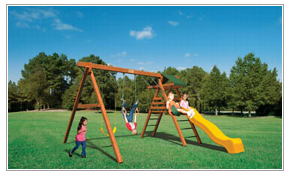 $1,338.90 System B Playset with Installation