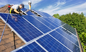 $9,999 for Complete LG300 Solar PV System...