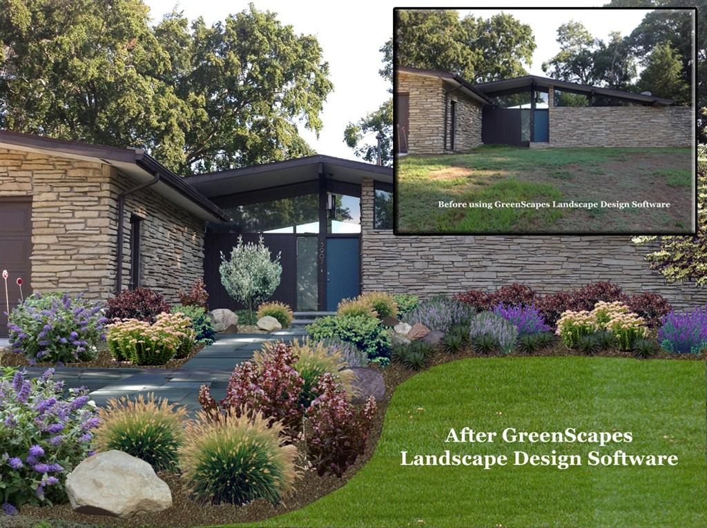Greenscapes customer first image for Landscape design inc