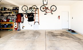 $520 for Garage Cleaning and Organizing for...
