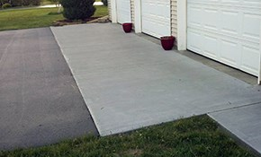 $1450 for Concrete Apron with Installation...