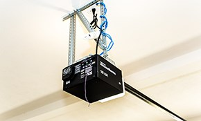 $265 for a Guardian Garage Door Opener Installed