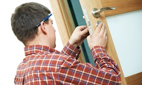 $100 for a Locksmith Service Call and Four...