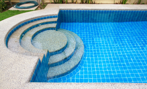 $165 for Professional Pool Tile Cleaning
