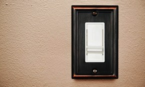 $75 for Installation of a Dimmer Switch