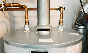 $899 for 40 Gallon Gas Water Heater Installed...