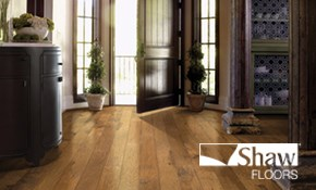 $299 for $500 Credit Toward Shaw Flooring...