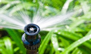 $2850 for a Eight-Zone Sprinkler System Installation...
