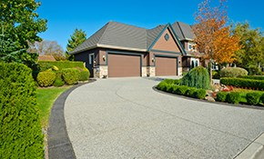 $2,999 for Concrete Driveway with $100 Credit...