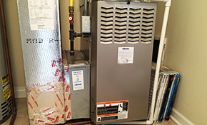 $3,900 for a New Gas Furnace Installed