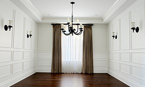 $270 for 100 Linear Feet of Crown Moulding...