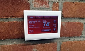 $250 for a Sensi Thermostat Installed