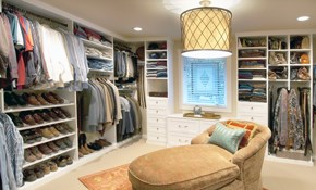 $950 for $1000 Worth of Custom Closets