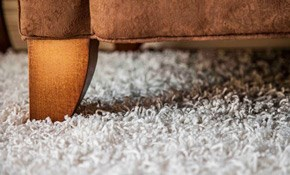 $110 for 2 Rooms of Carpet Cleaning and 1...