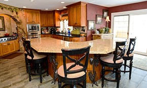 $99.99 for a Kitchen or Bathroom Design Consultation...