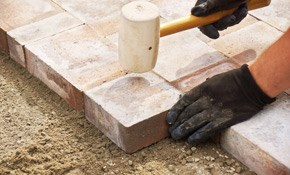 $989 for a Paver Stone Patio or Walkway Delivered...