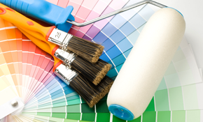 $295 for Two Rooms of Interior Painting