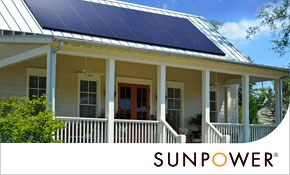 $500 for $1,000 toward SunPower Solar Panel...