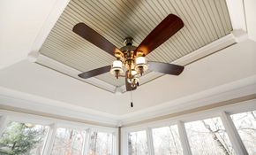 $125 Ceiling Fan Installation