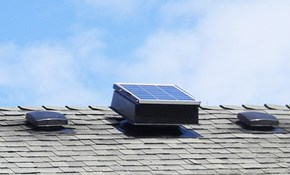 $425 for a Solar-Powered Attic Fan Completely...