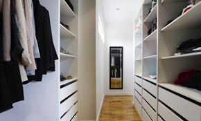$1,700 for $2,000 Worth of Custom Closets