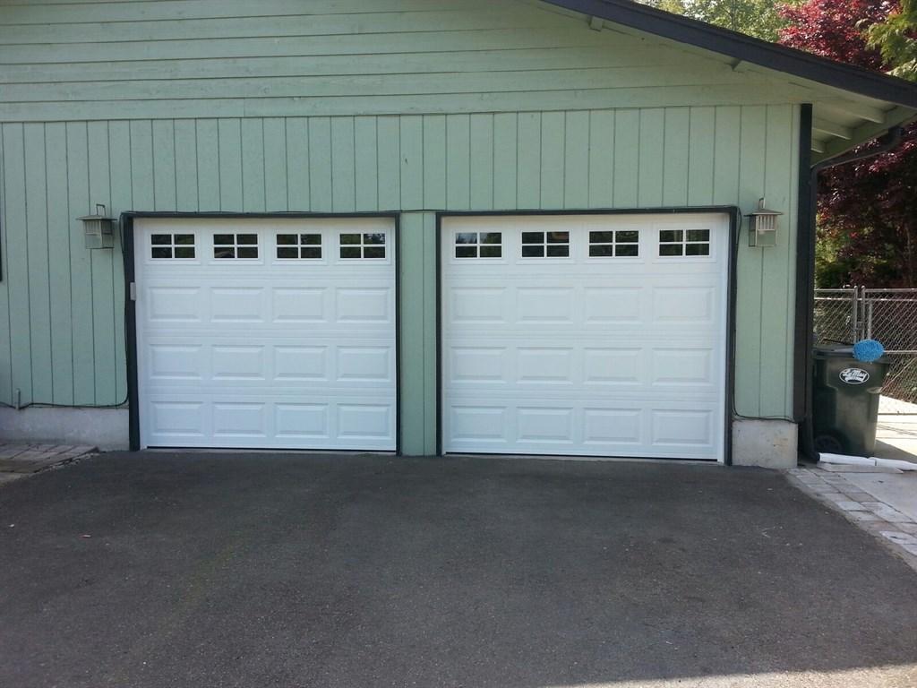 768 #4D6B7E Door Reconditioning Plus All City Garage Door $ 184 Single Garage Door  wallpaper Garage Doors Kent 37251024