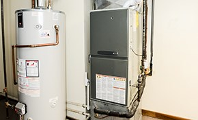$799.50 for 40-Gallon Standard Water Heater...