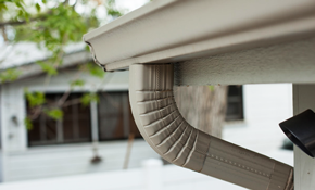 $1,400 for Seamless Gutters Installed