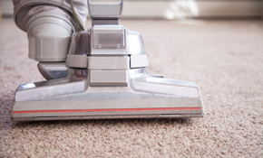 $69 for Two Rooms of Carpet Cleaning with...