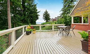 $225 for Deck or Fence Cleaning