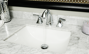 $95 for Bathroom Faucet Installation