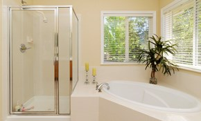 $4999 for a Walk-in Shower Installation -...