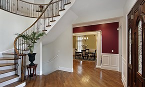 $850 for Foyer & Hallway Painting -- Materials...