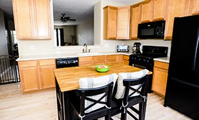 $9,850 Kitchen Remodel