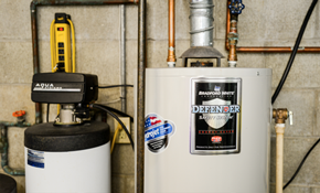 $1,240 for a Bradford 50-Gallon Gas or Electric Standard Flue Water Heater