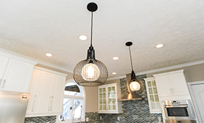 $569 for Four New LED Recessed Light Fixtures...
