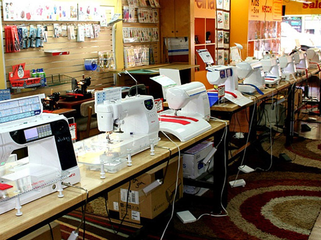 We Sell, Service and Repair Sewing Machines