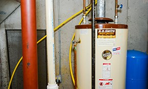 $35 Water-Heater Flush With Comprehensive...