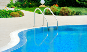 $38,200 for Mediterranean Pool and Outdoor...