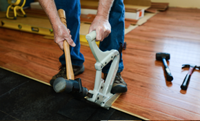 $800 for $1,000 Toward Flooring Services