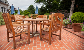 $1,699 for Brick Patio Installation -- Materials...
