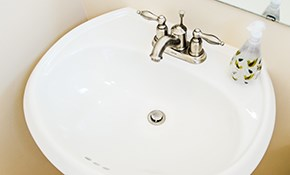 $70 Plumbing Service Call Plus Credit Toward...