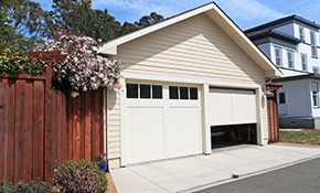 $233 for a Garage Door Double Spring Repair
