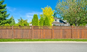 $1,700 for $2,000 Credit Toward New Fencing