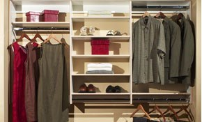 $339 Closet Re-Design and Professional Installation