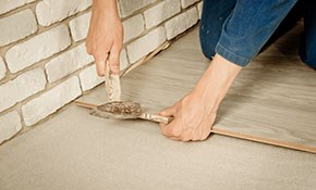 $500 for $575 Credit Toward Flooring Removal...