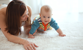 $144 for 5 Rooms of Carpet Cleaning and Deodorizing
