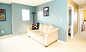 $539 for 3 Rooms of Interior Painting