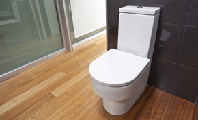 $165 for New Toilet Installation Labor