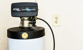 $59 for Soft Water System Tune-Up and Two...